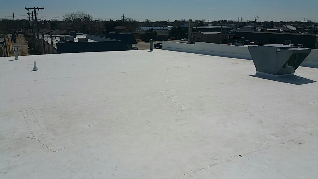 Hays, KS - Fully adhered TPO retrofit roof