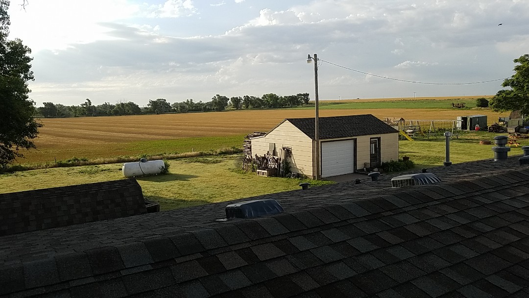 Hays, KS - We'll provide you with a free estimate and discuss with you all of your options for replacing your roof and seamless guttering.  #Roofmasters #Roofing