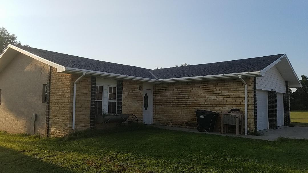 Hays, KS - Post roof install inspection.