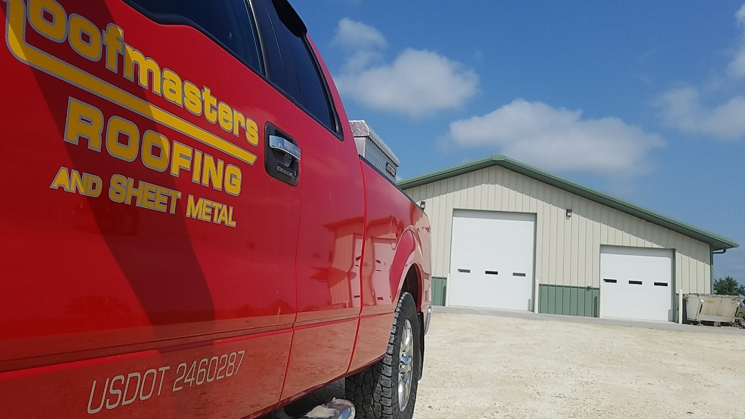Plainville, KS - Providing roof inspections and free estimates for our customers is just another great thing we do for our customers who call Roofmasters of Hays and Colby.  Give us a call today!  We've got you covered!