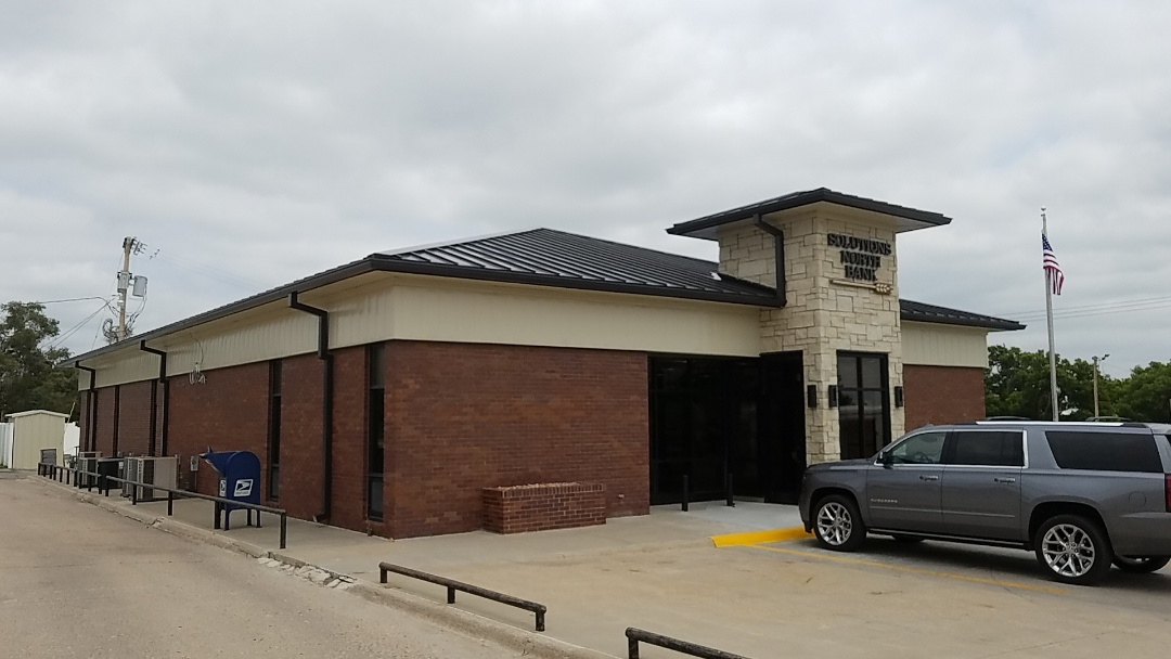 Hill City, KS - Roofmasters finished this standing seam roofing install.