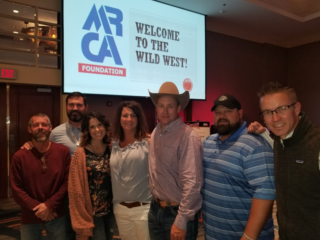 Hays, KS - Attending the MRCA (Midwest roofing contractors association) foundation auction in Omaha,NE