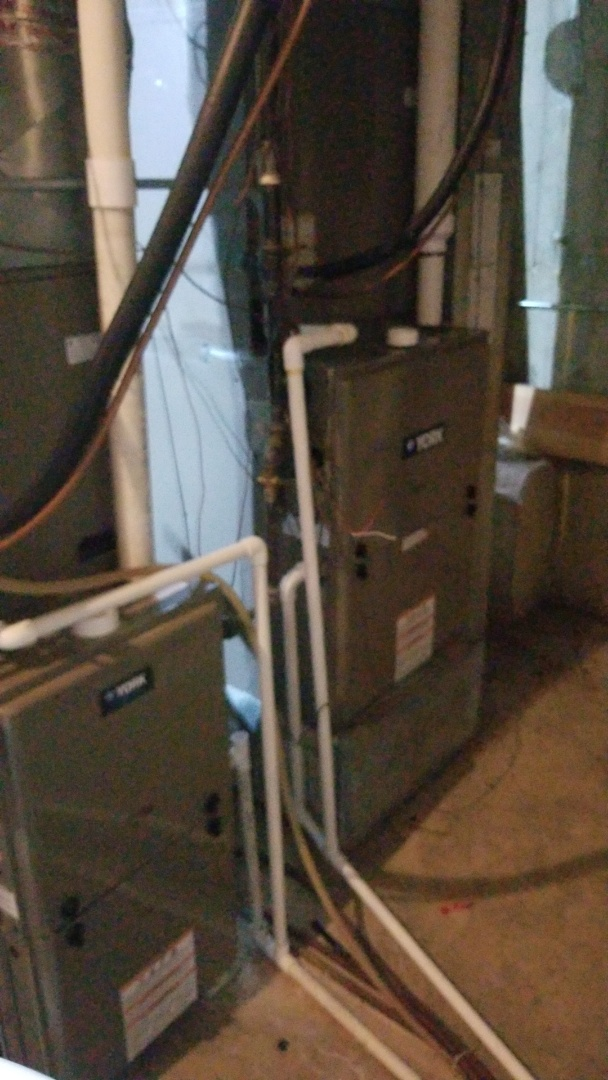 St. Charles, IL - Residential maintenance on York furnaces.