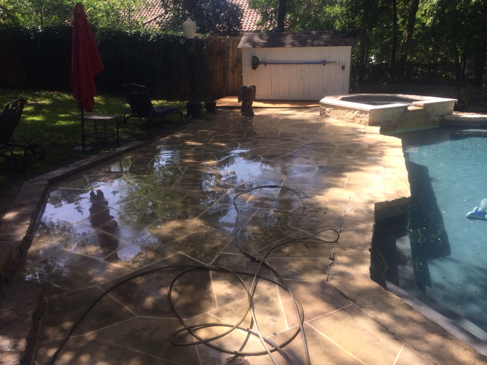 Dallas, TX - Power washing