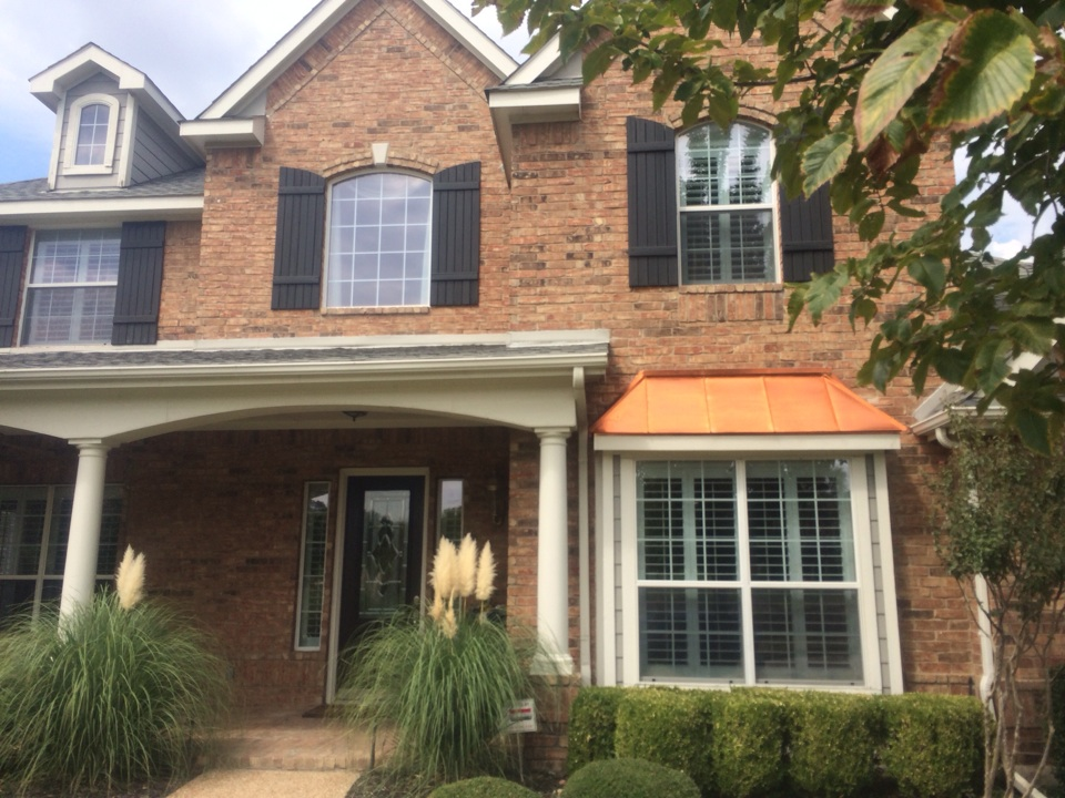 Plano, TX - Window cleaning
