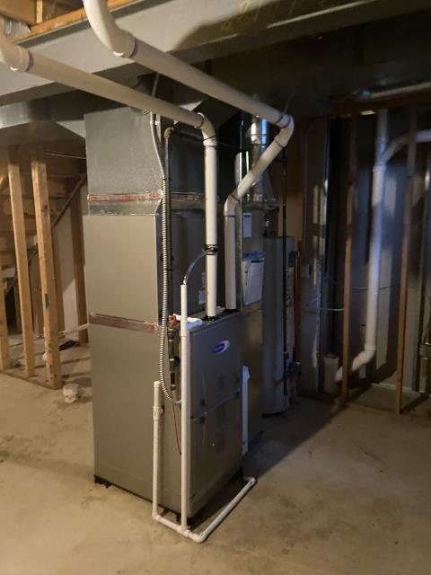 Powell, OH - I installed a new thermostat for the customer to work properly with their  two stage system. I cycled the system to ensure everything was working properly. System is operational upon departure.