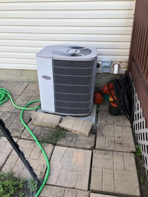 Pataskala, OH - I performed a tune up on a Carrier A/C unit. Everything checked out within specs. System is operational upon departure.