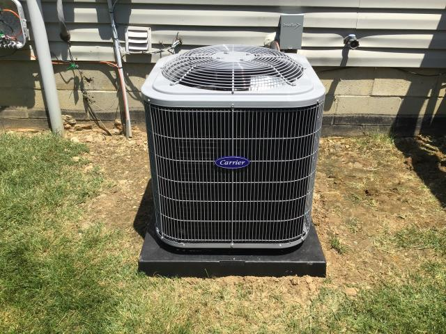 Blacklick, OH - I performed a tune up on a Carrier 13 SEER 2.5 Ton Air Conditioner. Everything checked out within specs. System is operational upon departure.