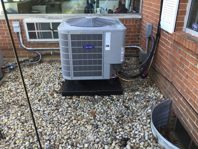 Groveport, OH - I performed a tune up and safety check on a Carrier 16 SEER 4 Ton Heat Pump.  I found no issues and the system was fully operational when I left.
