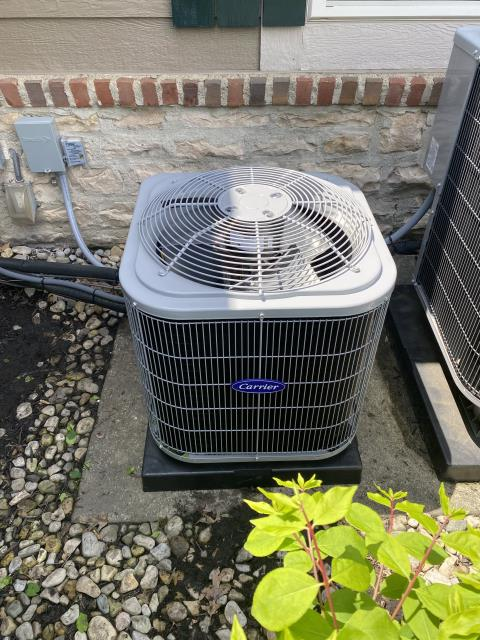 New Albany, OH - I completed an installation inspection on a Five Star 80% 70,000 BTU Gas Furnace and a Five Star 13 SEER 2 Ton Air Conditioner.  Completed installation checklist.  Cycled and monitored the system.  Operating normally at this time.