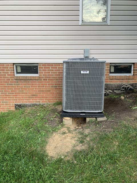 Canal Winchester, OH - I completed an installation inspection on a Five Star 16 SEER 5 Ton Air Conditioner.  Completed installation checklist.  Cycled and monitored the system.  Operating normally at this time.