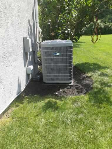 """Powell, OH - I completed an installation inspection on a Carrier """"Infinity Series"""" 19 SEER Variable-Speed 5 Ton Air Conditioner and aCarrier """"Infinity Series"""" 2 Stage 80% Variable Speed 135,000 BTU Gas Furnace .  Completed installation checklist.  Cycled and monitored the system.  Operating normally at this time."""