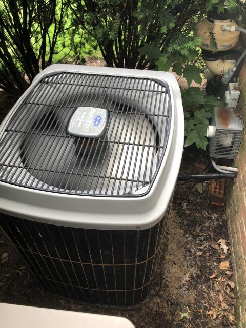 New Albany, OH - I arrived on site to perform an installation of five infinity dampeners for a Carrier air conditioning unit. The installation was successful and the unit was running at full functionality at the time of departure.