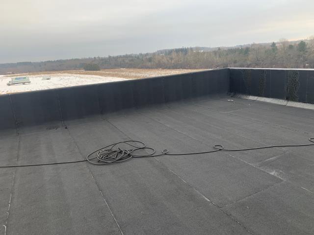 Pickering, ON - Movie set, Flat roof , custom, Jack Reacher production,