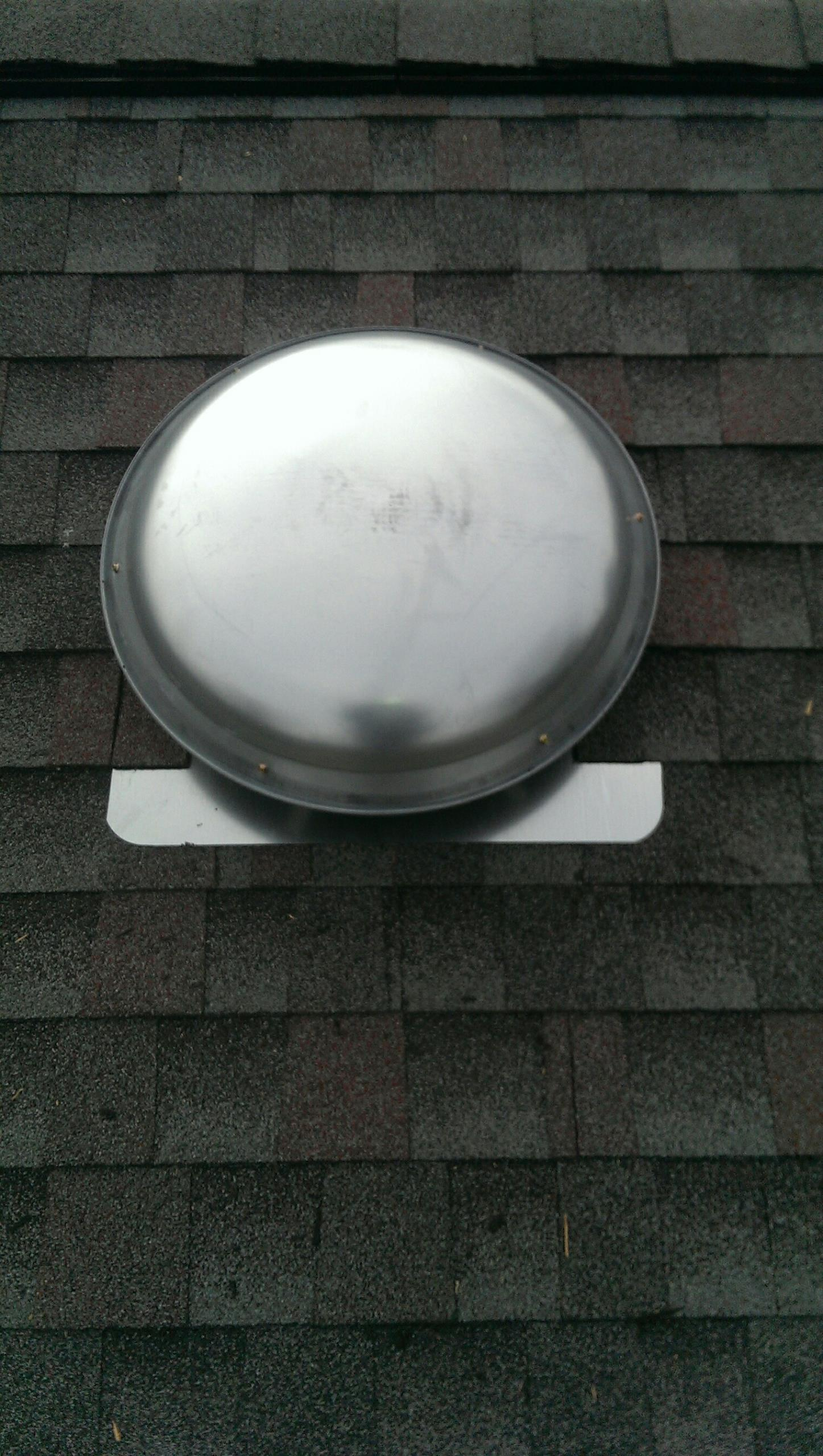 Bellbrook, OH - Installed new attic fan