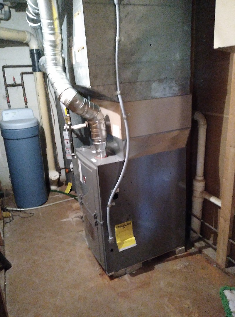 Installed new furnace