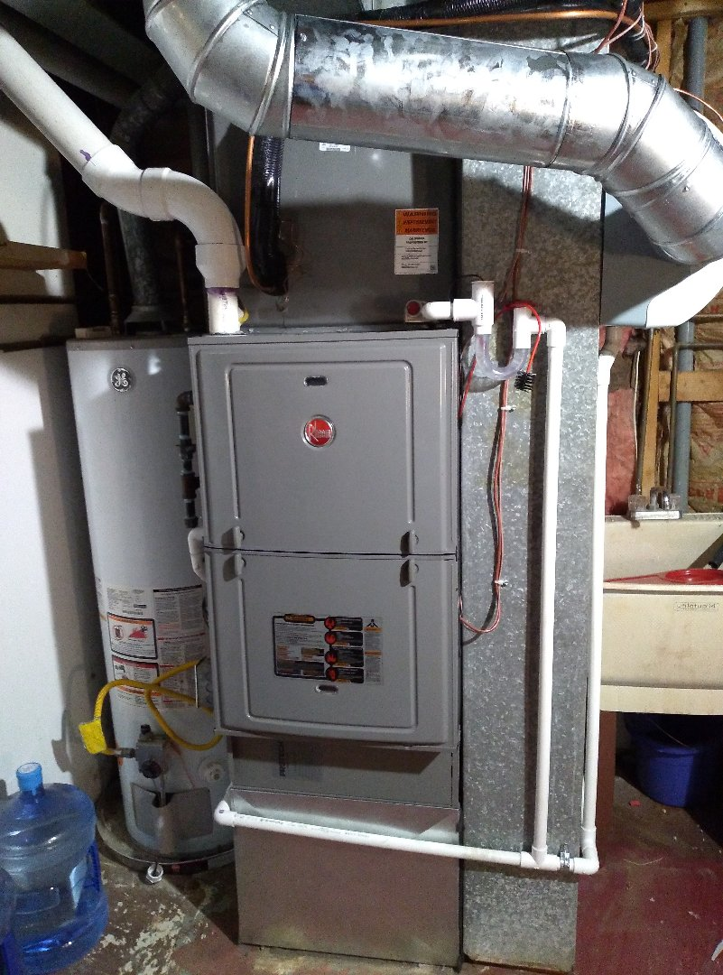 Englewood, OH - Installed new furnace and air