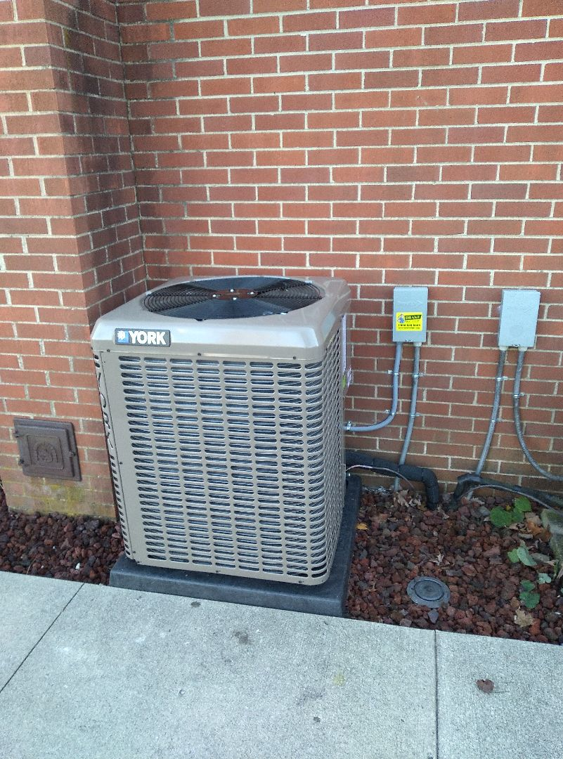 Lewisburg, OH - Installed new a/c and air handler