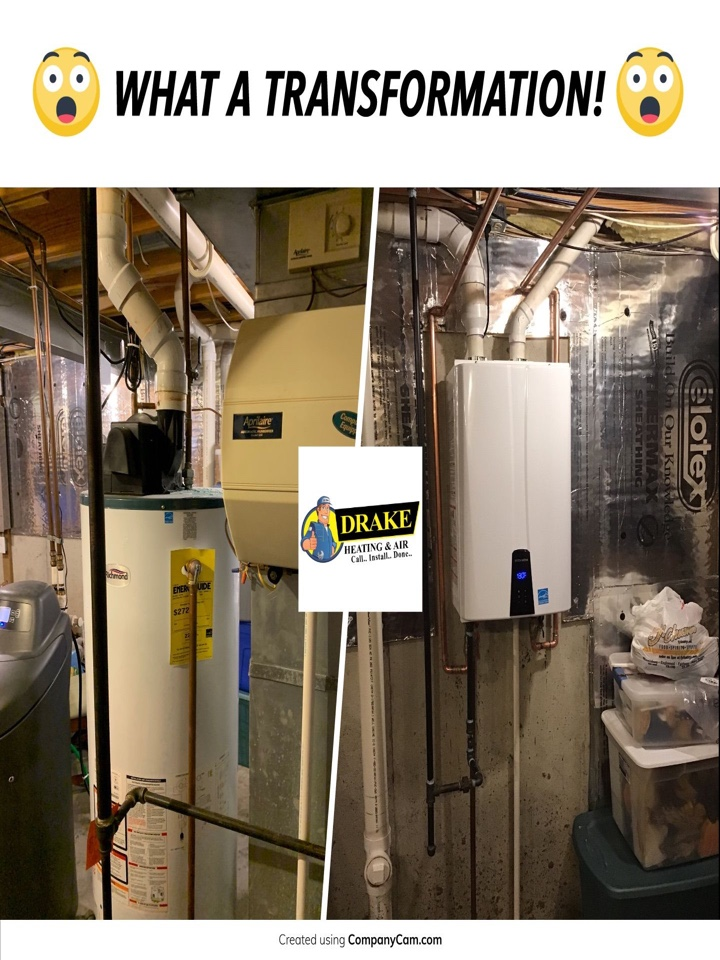 Miamisburg, OH - Installed a HOT WATER HEATER,APRILERE 600,AND UV LIGHT