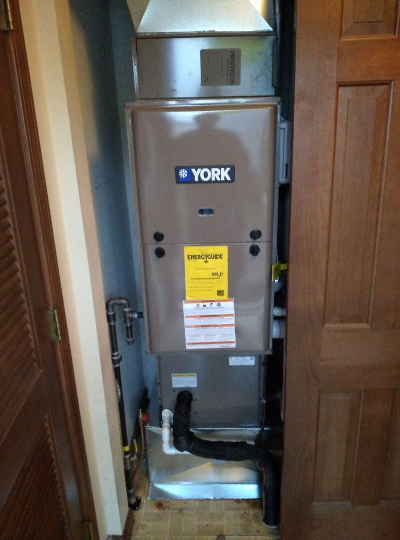 Camden, OH - INSTALLED FURNACE AND HEAT PUMP