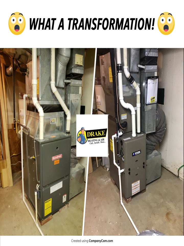 Dayton, OH - Installed York furnace and air