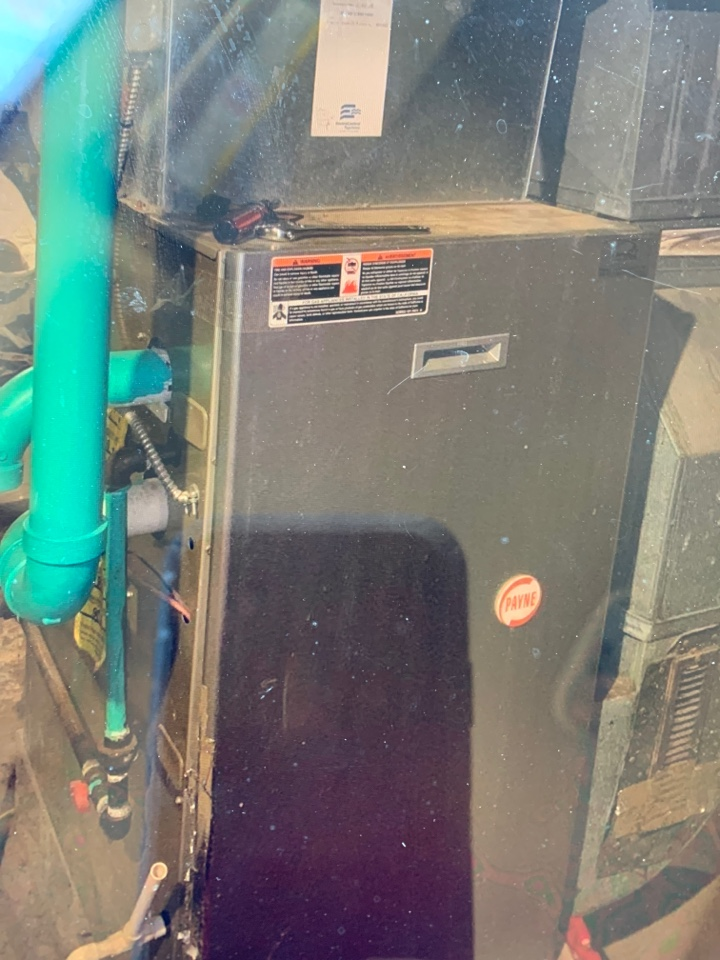 Replace inducer motor on gas furnace