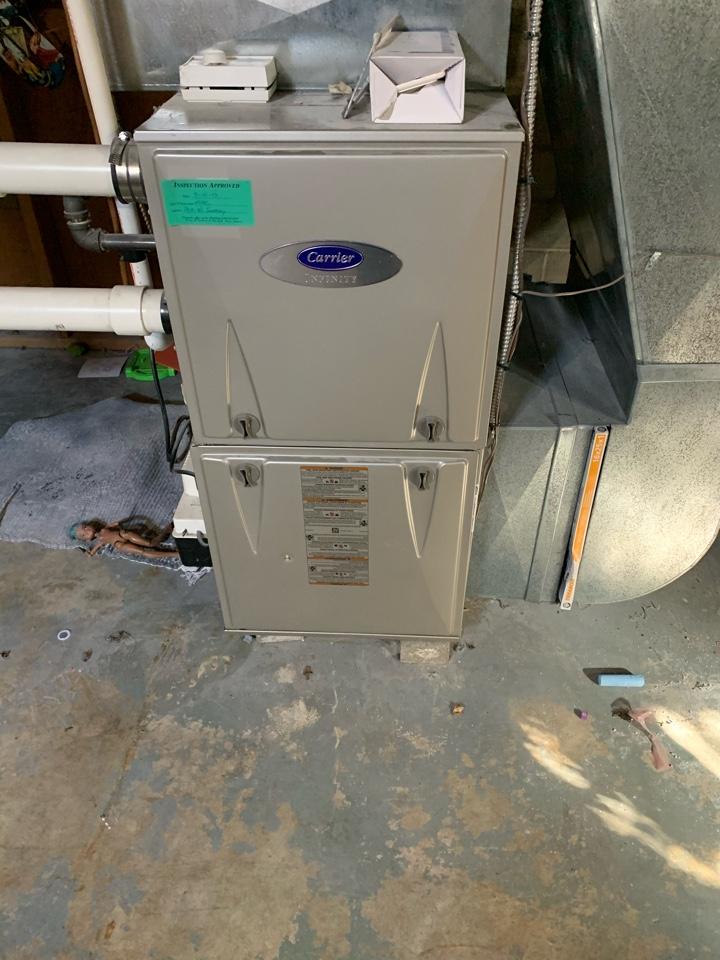 Safety evaluation on gas furnace