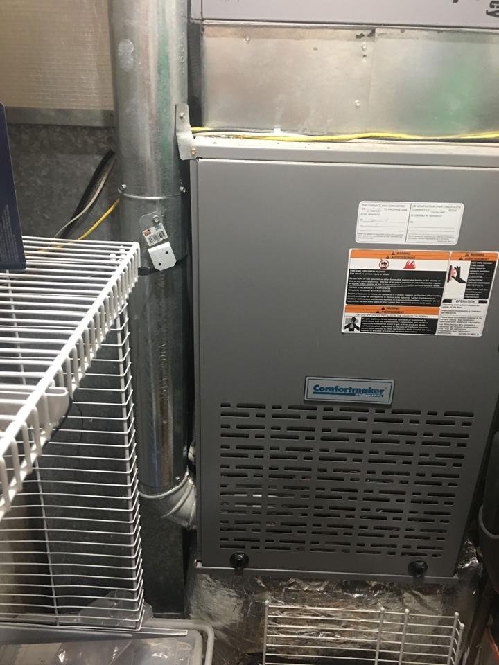 Comfortmaker gas furnace tuneup