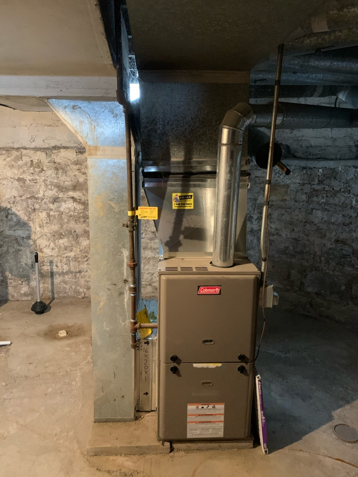 Springfield, OH - Service on Coleman furnace