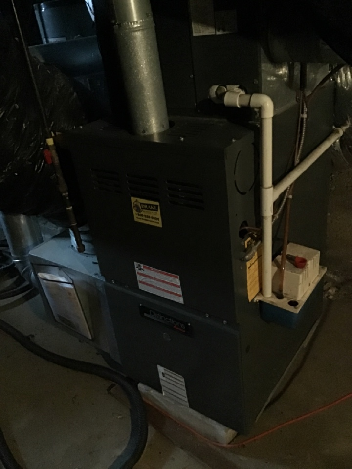 Amana gas furnace tuneup