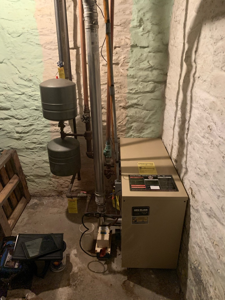 Tune up on boiler