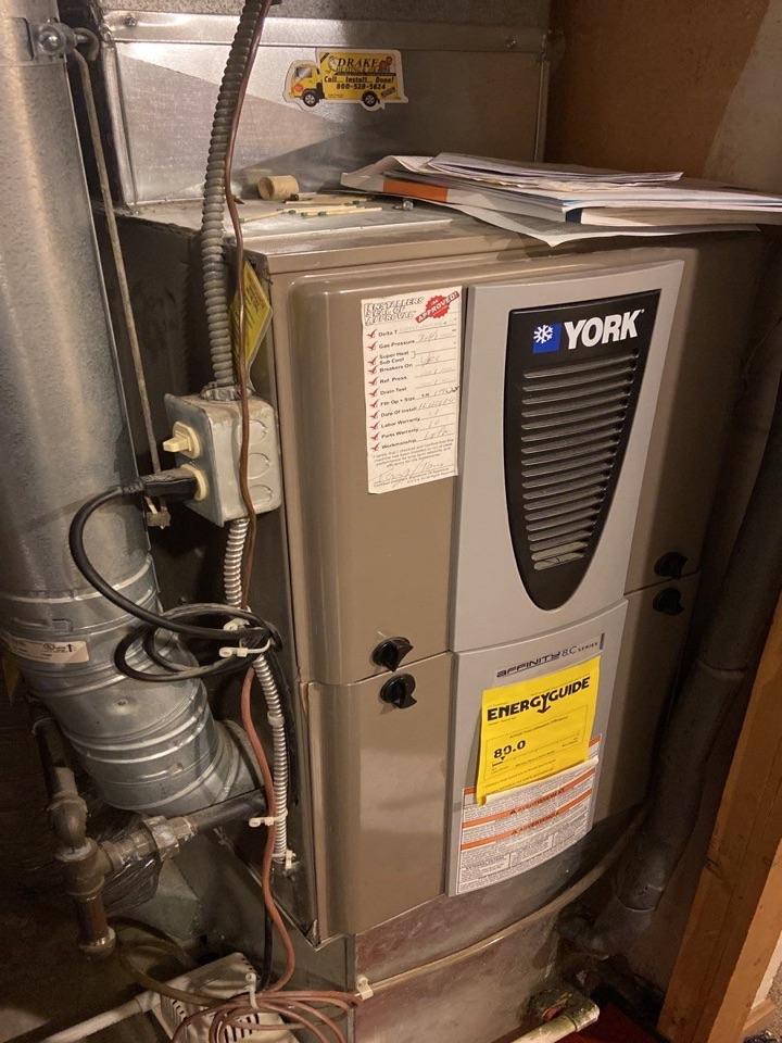 York gas furnace diagnostic.