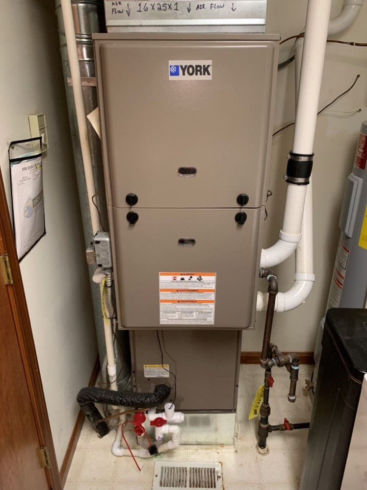 Eaton, OH - Maintenance on York Gas Furnace