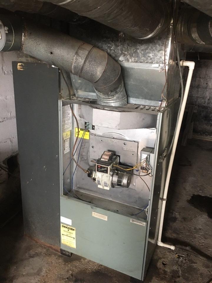 Rudd oil furnace tuneup