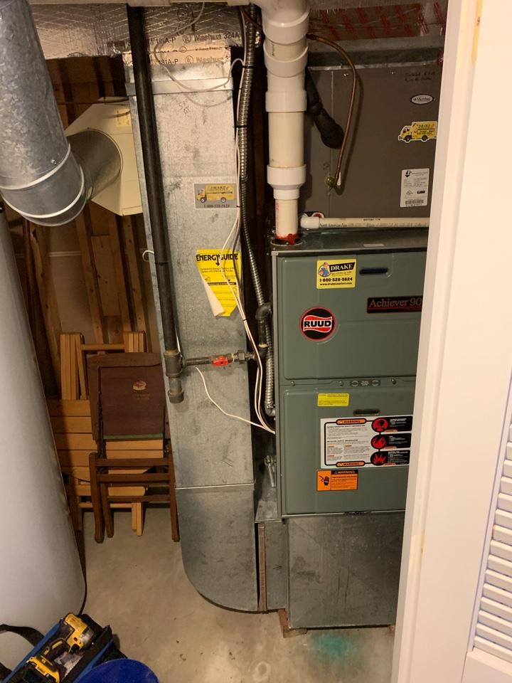 Springfield, OH - Maintenance on Ruud Gas Furnace