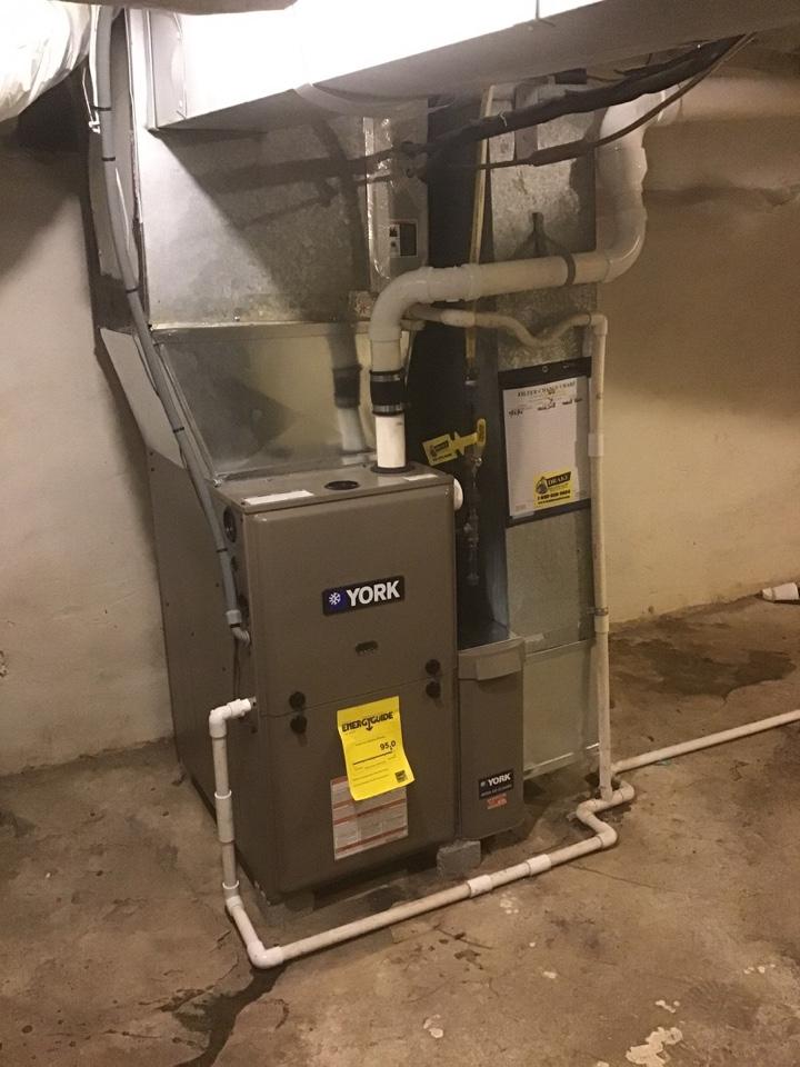 Eaton, OH - Furnace swap