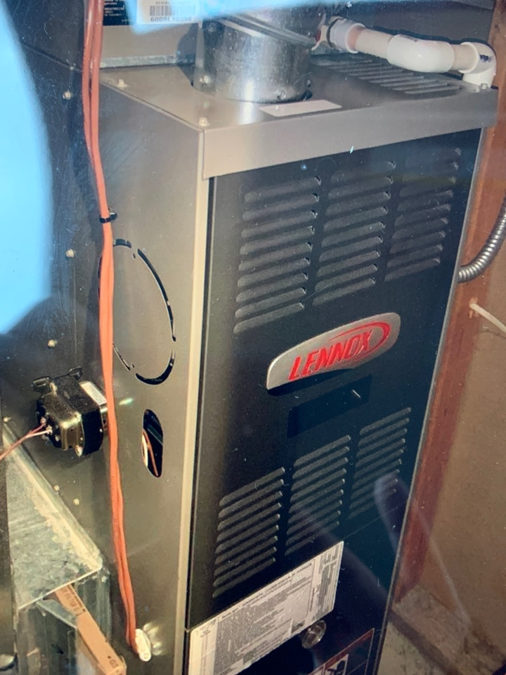 Humidifier on gas furnace