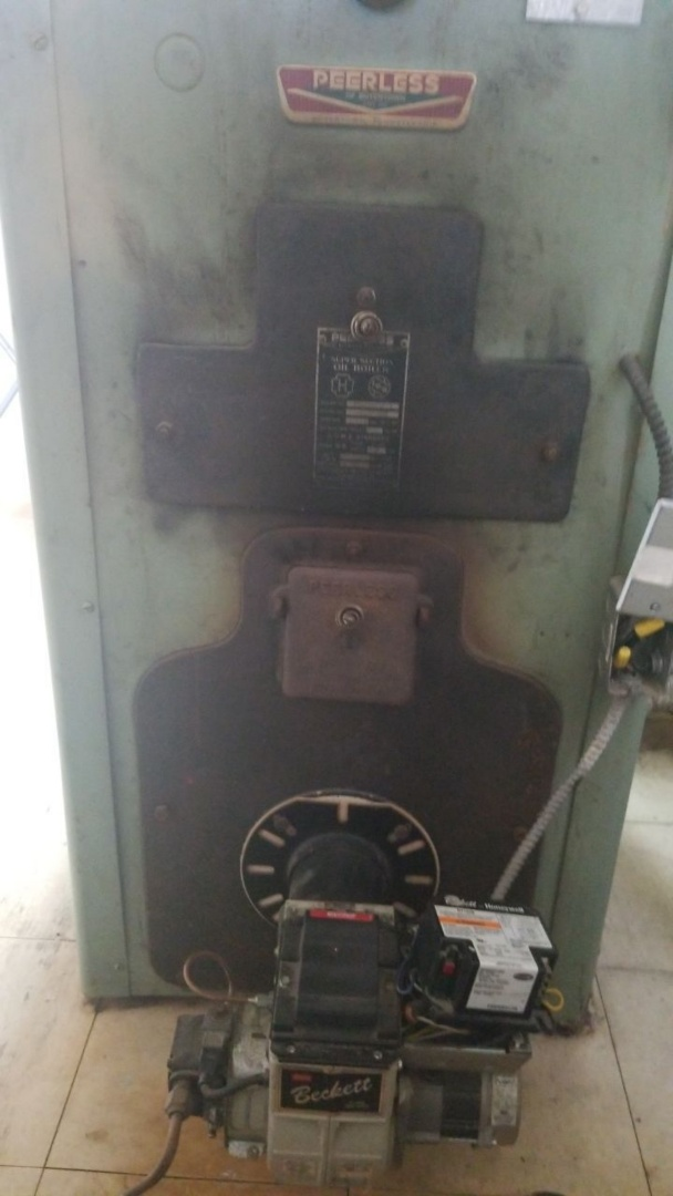 Eaton, OH - Service call on oil boiler