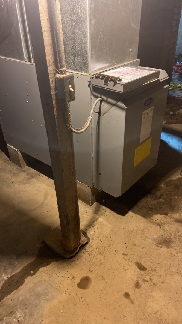 Repairs and tune up on carrier oil furnace