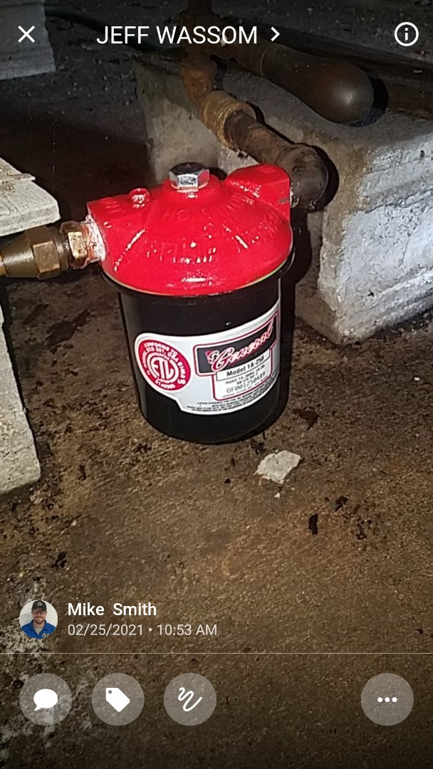 Replaced oil canister and added oil treatment