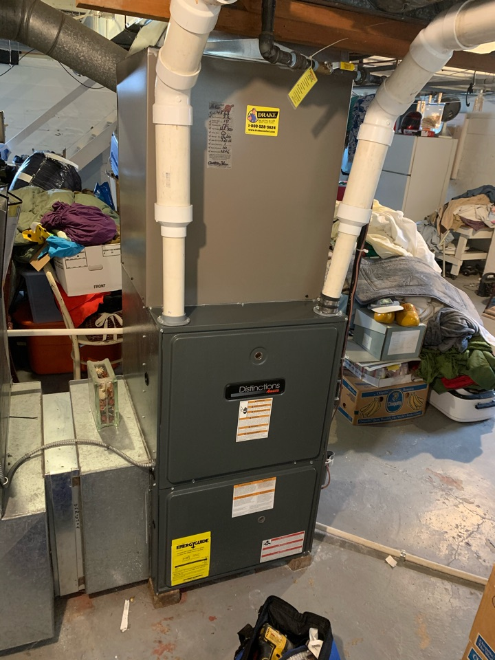 Maintenance on Amana Gas Furnace