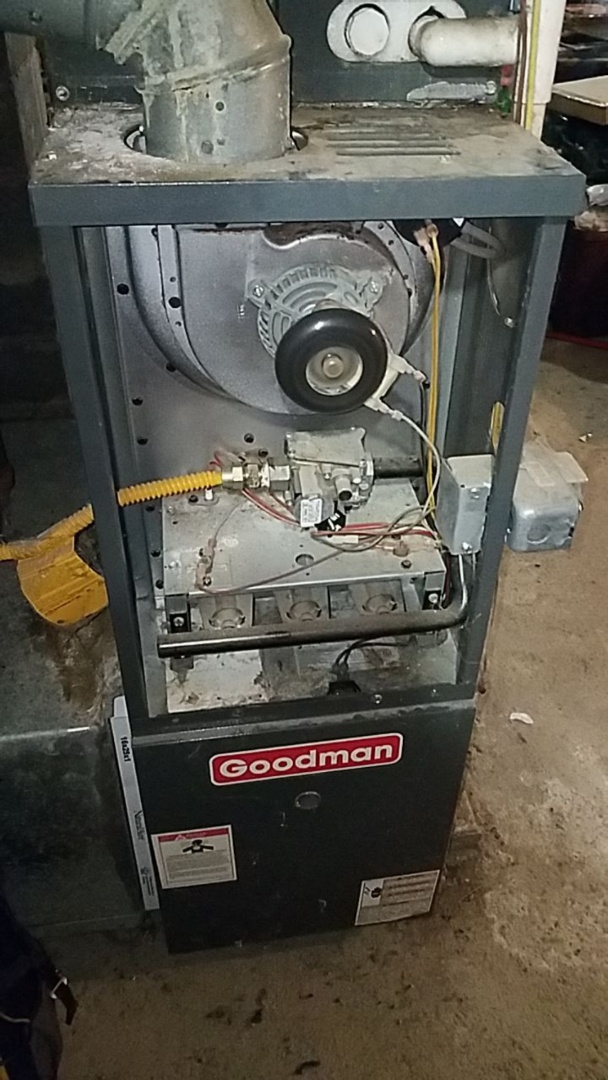 Service call on goodman furnace