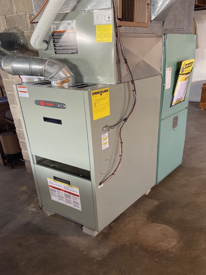 Trane oil furnace repair