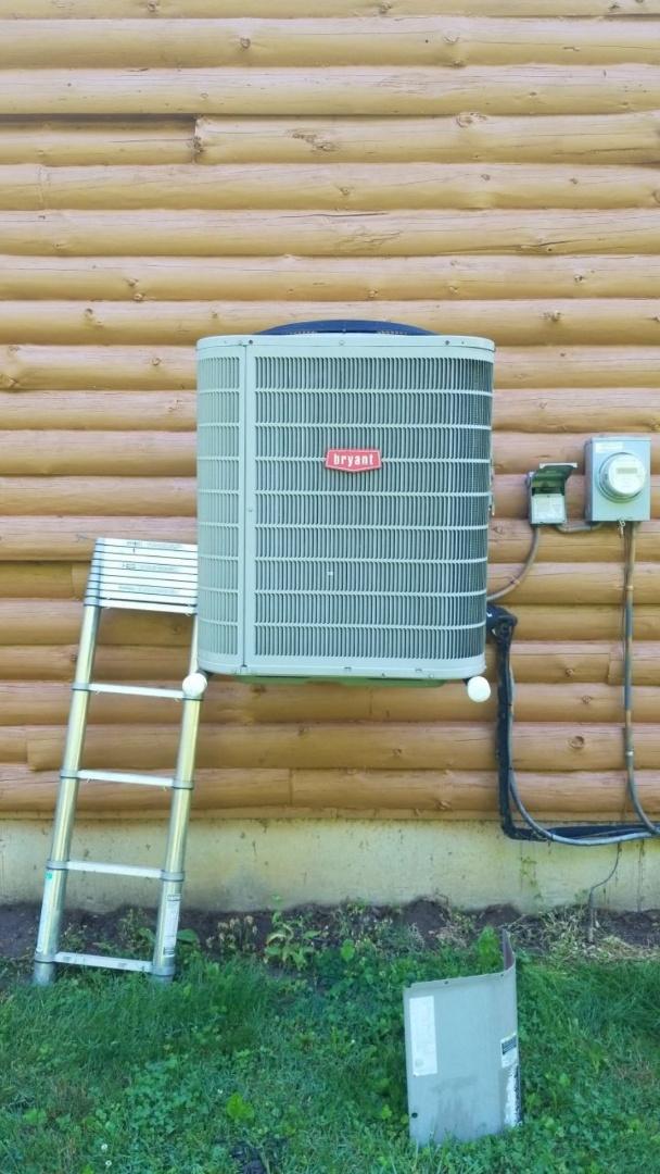 Service call on Bryant heatpump