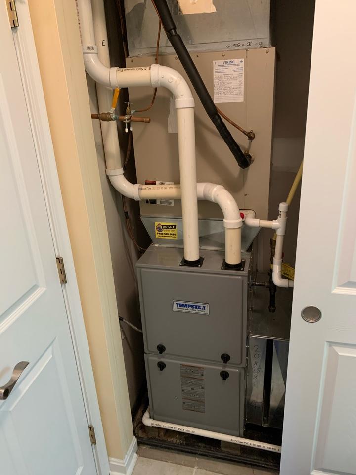 Maintenance on Tempstar Gas Furnace