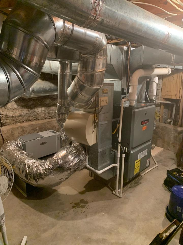 Maintenance on Amana Gas Furnace