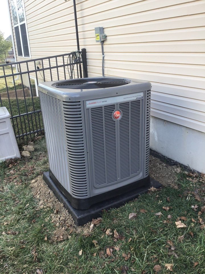 Replace furnace and air