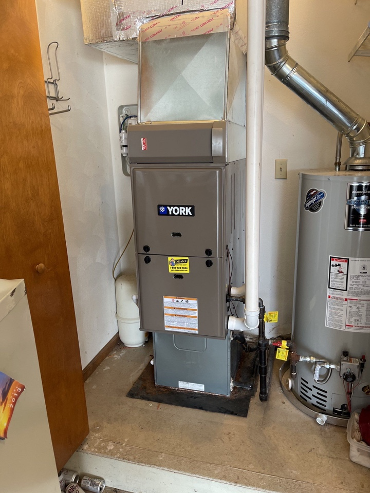 Replaced furnace