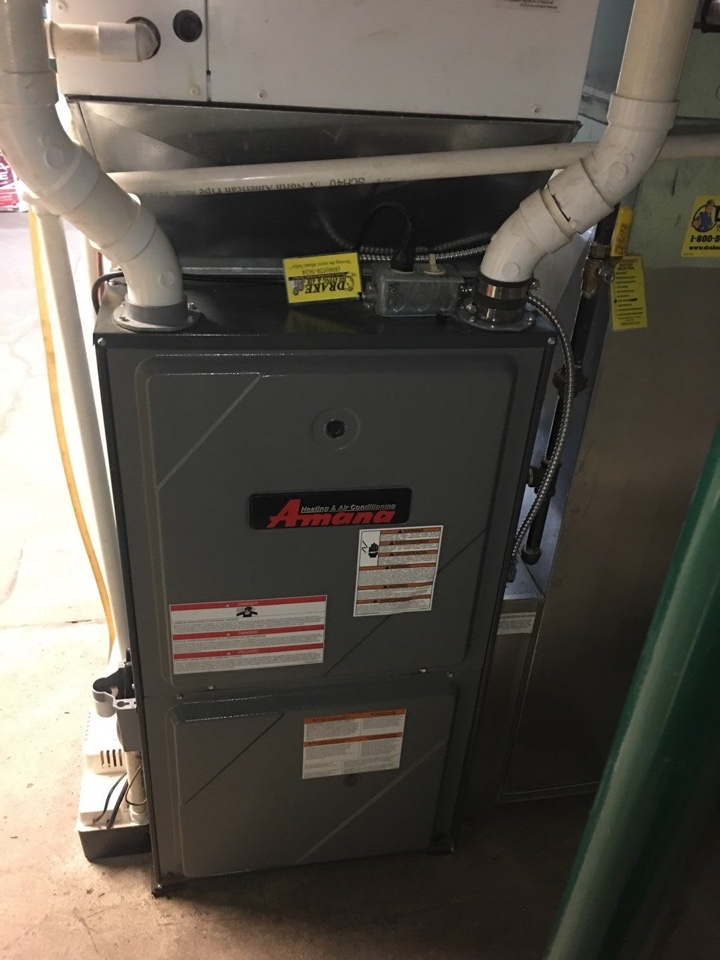Amana propane furnace and bard geothermal tune up.