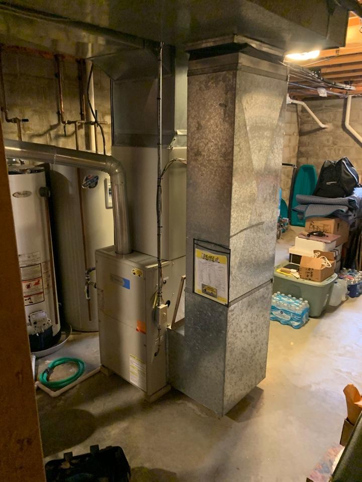 Maintenance on 2 Westinghouse furnaces